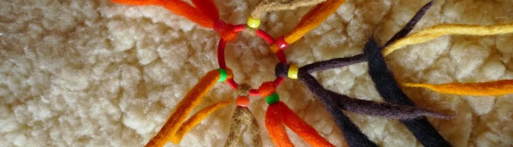 élastique coloré 7 brins, multicolore